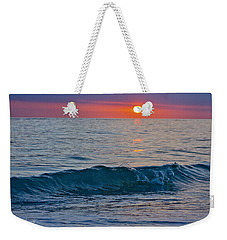 Crystal Blue Waters At Sunset In Treasure Island Florida 3 Weekender Tote Bag