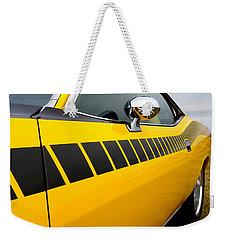Cuda Stripes Weekender Tote Bag