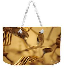Cutlery Vortex Weekender Tote Bag by Bruce Stanfield