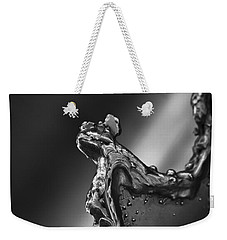 Weekender Tote Bag featuring the photograph Cutting Edge Sibelius Monument by Clare Bambers