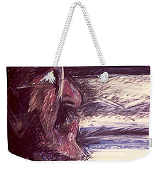 Dad Driving  Weekender Tote Bag