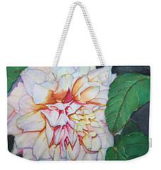 Dahlia Beauty Weekender Tote Bag