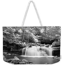 Dainty Waterfall Weekender Tote Bag by David Troxel