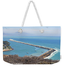 Weekender Tote Bag featuring the photograph Dana Point California 9-1-12 by Clayton Bruster