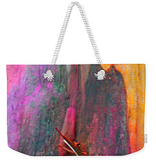 Weekender Tote Bag featuring the digital art Dance For The Earth by Richard Laeton
