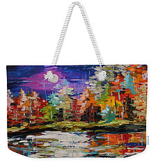 Dance On The Pond Weekender Tote Bag
