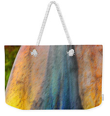 Weekender Tote Bag featuring the digital art Dance Through The Light by Richard Laeton
