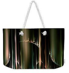 Dancing Auroras Curtains In The Sky Weekender Tote Bag