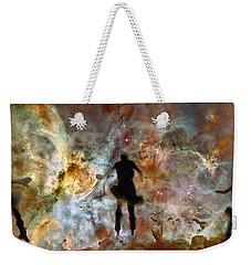 Dancing Nebula Weekender Tote Bag