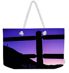 Weekender Tote Bag featuring the photograph Darkening Sky by Shannon Harrington