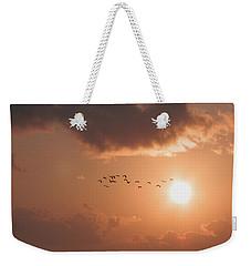 Dawn Flight Weekender Tote Bag