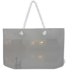 Weekender Tote Bag featuring the photograph Dawn Patrol by Linsey Williams