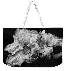 Day Lilies Weekender Tote Bag by Eunice Gibb