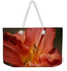 Daylilly Weekender Tote Bag