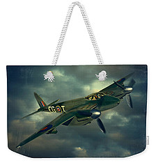 Weekender Tote Bag featuring the photograph De Haviland Mosquito by Steven Agius