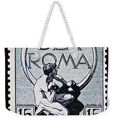 Weekender Tote Bag featuring the photograph Dea Roma by Andy Prendy