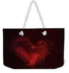 Deep Hearted Weekender Tote Bag