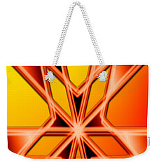 Weekender Tote Bag featuring the digital art Deep Thought by George Pedro