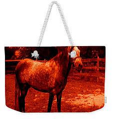 Weekender Tote Bag featuring the photograph Defiance by George Pedro