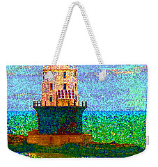 Weekender Tote Bag featuring the photograph Delight House by Clara Sue Beym
