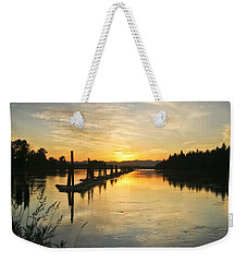 Delta Sunset Weekender Tote Bag by Albert Seger