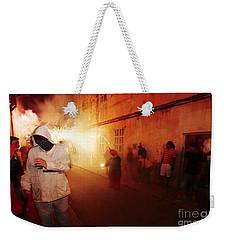 Demons In The Street Weekender Tote Bag
