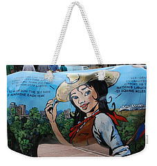 Weekender Tote Bag featuring the photograph Denver by Dany Lison