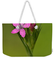 Weekender Tote Bag featuring the photograph Deptford Pink by JD Grimes