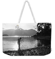 Weekender Tote Bag featuring the photograph Derwent by Linsey Williams