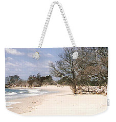 Deserted Island Weekender Tote Bag