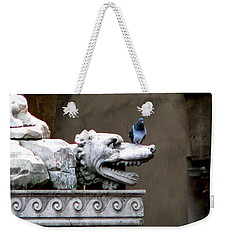 Despised Pigeon Weekender Tote Bag by Eric Tressler