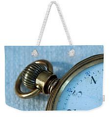 Details Of Time 1 Weekender Tote Bag by Kay Lovingood