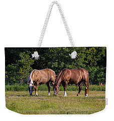 Dinning Together Weekender Tote Bag by Doug Long