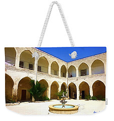 Weekender Tote Bag featuring the photograph Do-00494 Inside Court Saidet El-nourieh by Digital Oil