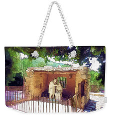 Do-00500 St Rafqa Statue Weekender Tote Bag