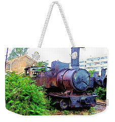 Weekender Tote Bag featuring the photograph Do-00504 Train In Mar Mickael by Digital Oil