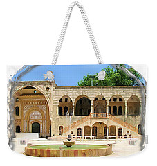 Weekender Tote Bag featuring the photograph Do-00522 Emir Bechir Palace by Digital Oil
