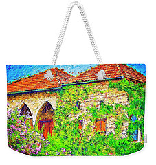 Weekender Tote Bag featuring the photograph Do-00530 Old House by Digital Oil