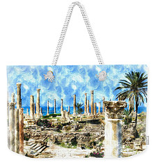 Do-00550 Ruins And Columns Weekender Tote Bag