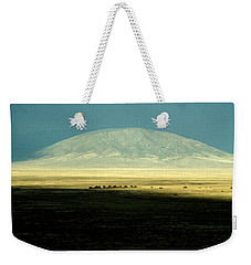 Weekender Tote Bag featuring the photograph Dome Mountain by Brent L Ander
