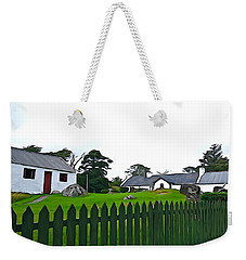 Weekender Tote Bag featuring the photograph Donegal Home by Charlie and Norma Brock