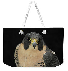 Don't Flinch... I Am Looking At You Weekender Tote Bag by Laddie Halupa