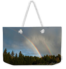 Double Blessing Weekender Tote Bag by Cheryl Baxter