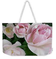 Double Pink Weekender Tote Bag