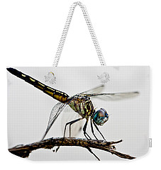 Weekender Tote Bag featuring the photograph Dragon by Dan Wells