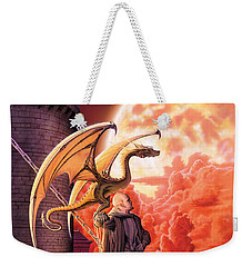 Dragon Lord Weekender Tote Bag