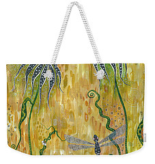 Dragonfly Safari Weekender Tote Bag