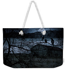 Dreadful Silence Weekender Tote Bag by Lourry Legarde