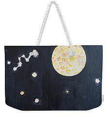 Weekender Tote Bag featuring the painting Dream by Sonali Gangane