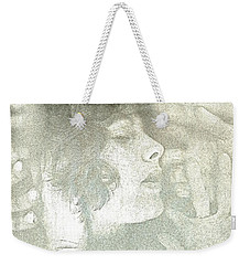 Weekender Tote Bag featuring the photograph Dreaming by Rory Sagner